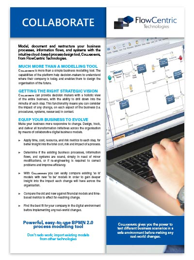 Download the Collaborate Brochure